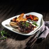 Тарелка для стейка BBQ Passion