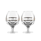 Набор бокалов для бренди Elysian Gold