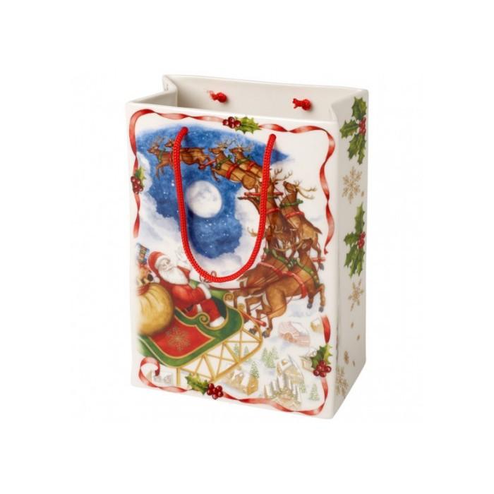 """Ваза """"Подарочный пакет"""""""