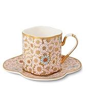 Кофейная чашка с блюдцем Daisy