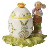 """Шкатулка """"Bunny-мальчик и пасхальное яйцо"""""""