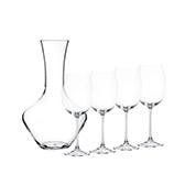 Набор бокалов для вина с декантером