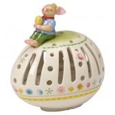 Яйцо-подсвечник для маленькой свечи