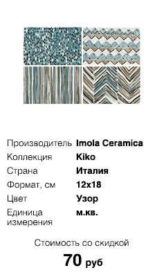Коллекция Kiko, Imola Ceramica