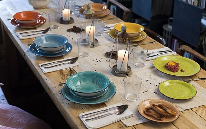 Набор столовой посуды Art Pepprer, 18 предметов, Tognana - 175 BYN
